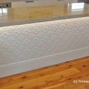 Pressed Tin Panels Original Island Bench Bright White