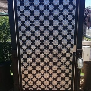 Pressed Tin Panels Original Outdoor Gate