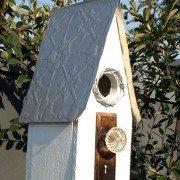 Pressed Tin Panels Original birdhouse