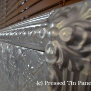 Pressed Tin Panels original Bed Head