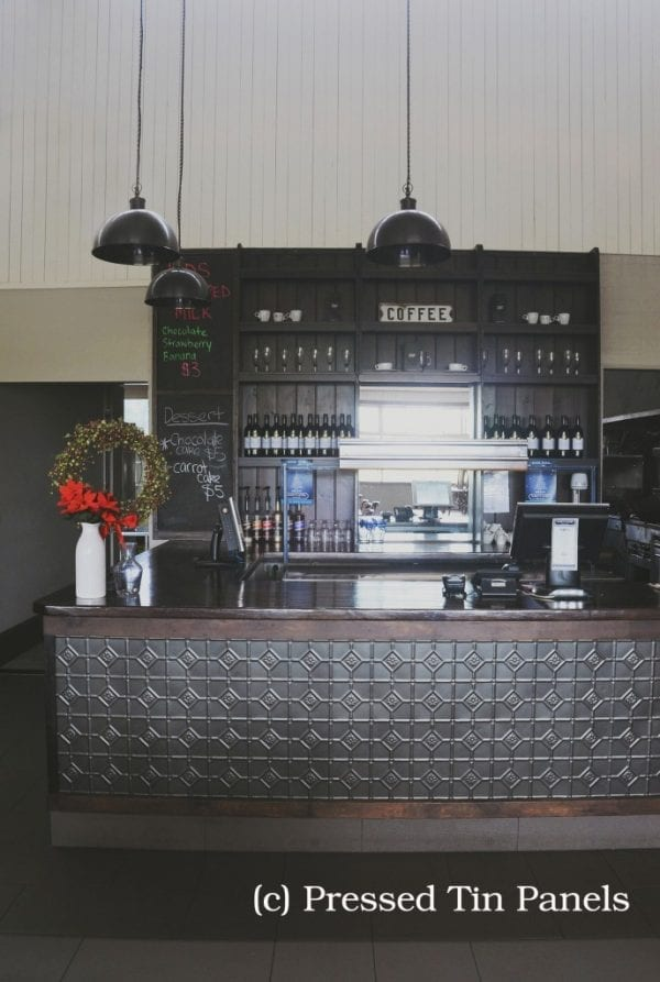 Pressed Tin Panels Mudgee Sable Asteroid Bar