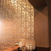 Pressed Tin Panels_Snowflakes Feature Wall Silver5