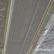 PressedTinPanels Flannel Flower Ceiling