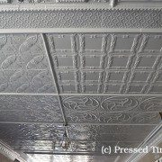 PressedTinPanels Full Showroom Ceiling