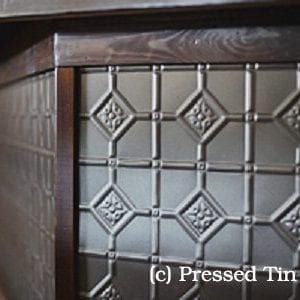 Pressed Tin Panels Mudgee Sable Asteroid BarFront
