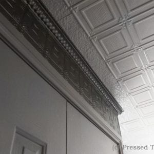 Pressed Tin Panels Ophir Ceiling Silver