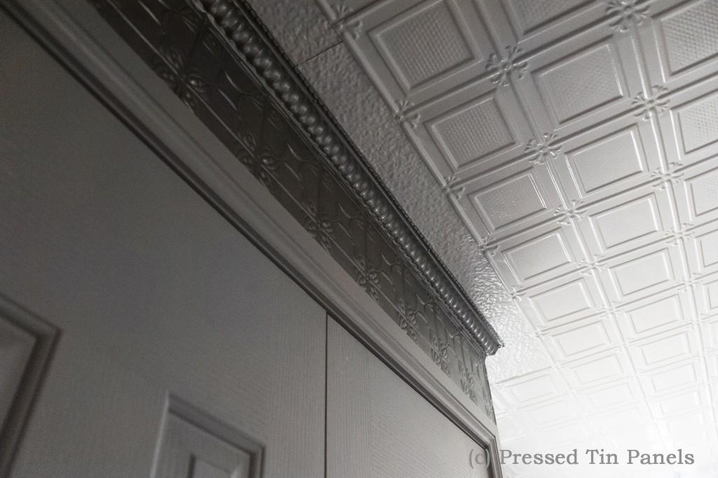 PressedTinPanels_Ophir Ceiling Silver PressedTinPanelsOphir Ceiling Silver Pressed  Tin ...