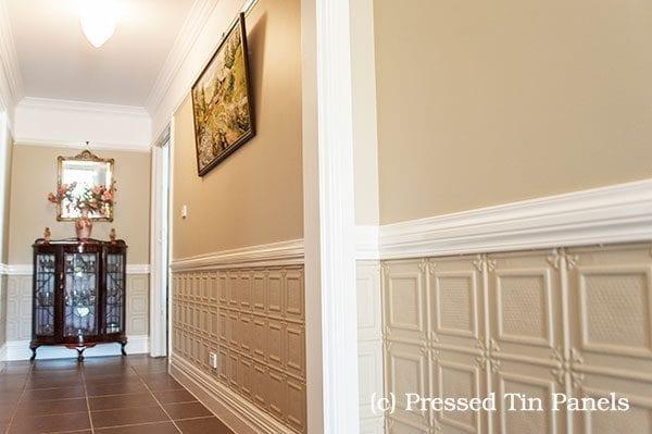 Pressed Tin Panels Ophir Hallway
