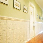 PressedTinPanelsWildflower Dado Hallway Cream