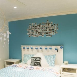PressedTinPanels_Carousel Bedroom Ceiling Egg Darte Cornice White