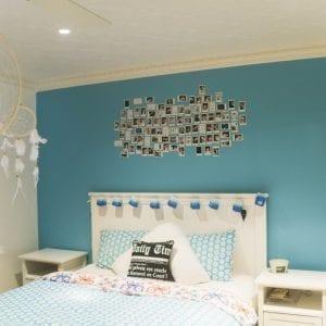 PressedTinPanels_Carousel Bedroom Ceiling Egg Darte Cornice White