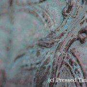 PressedTinPanels_Charlton Liquid Copper patina Green Porters Paint
