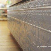 PressedTinPanels_Counter Front_Dado Wall Panel Mercury Silver Crago Mill
