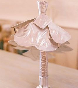 Pressed Tin Panels Creative Ideas Wedding Dress