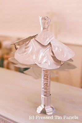 Pressed Tin Panels Creative Ideas Wedding Dress