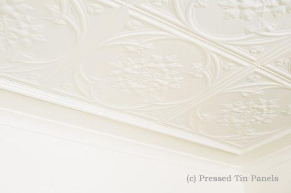Pressed Tin Panels Iris Ceiling
