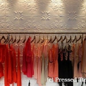 PressedTinPanels_Lotus Feature Wall Retail