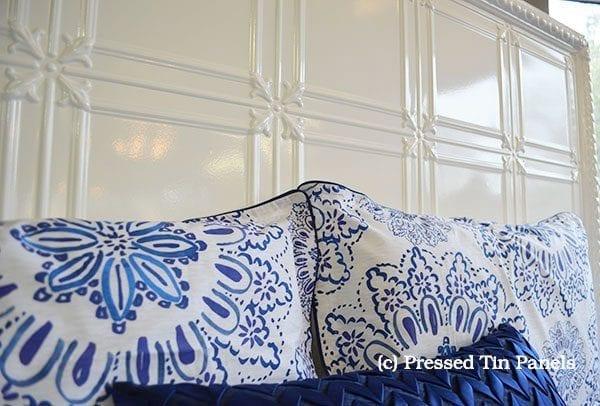 Pressed Tin Panels Maddington Bed Head
