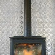 PressedTinPanels_Original Feature Wall Fire Place Floor to Ceiling