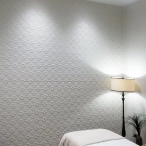 Pressed Tin Panels Original 900x1800 WhiteSatin BeautyRoomFeatureWall