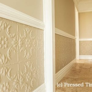 Pressed Tin Panels Melbourne Dado Feature Walll