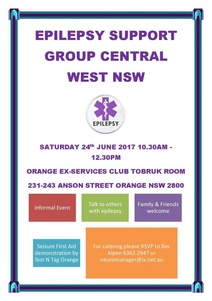 Epilepsy Support Group Central West