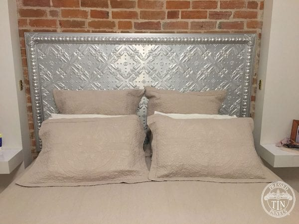 Pressed Tin Panels Golden Bay King Size Bedhead