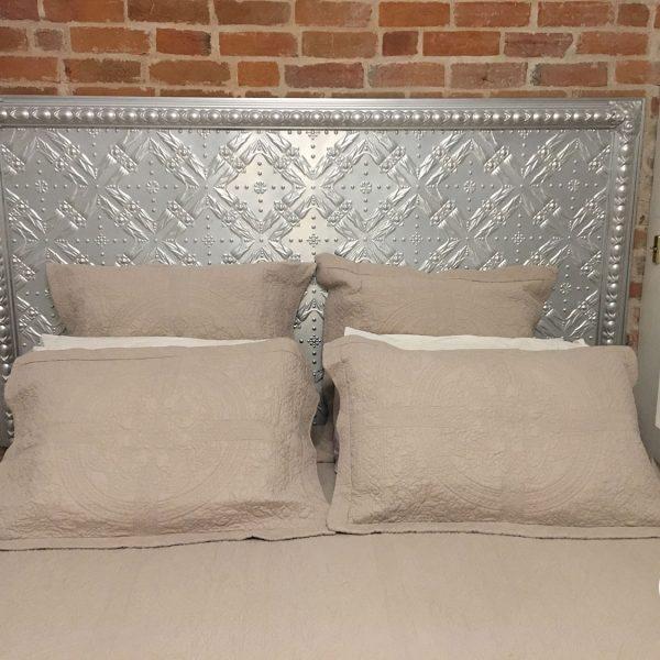 Pressed Tin Panels Golden Bay King Size Bedhead