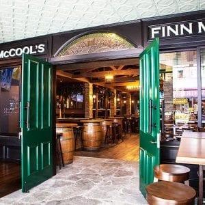 Pressed Tin Panels Harris pattern installed on the ceiling at Finn McCools Irish Pub in Brisbane