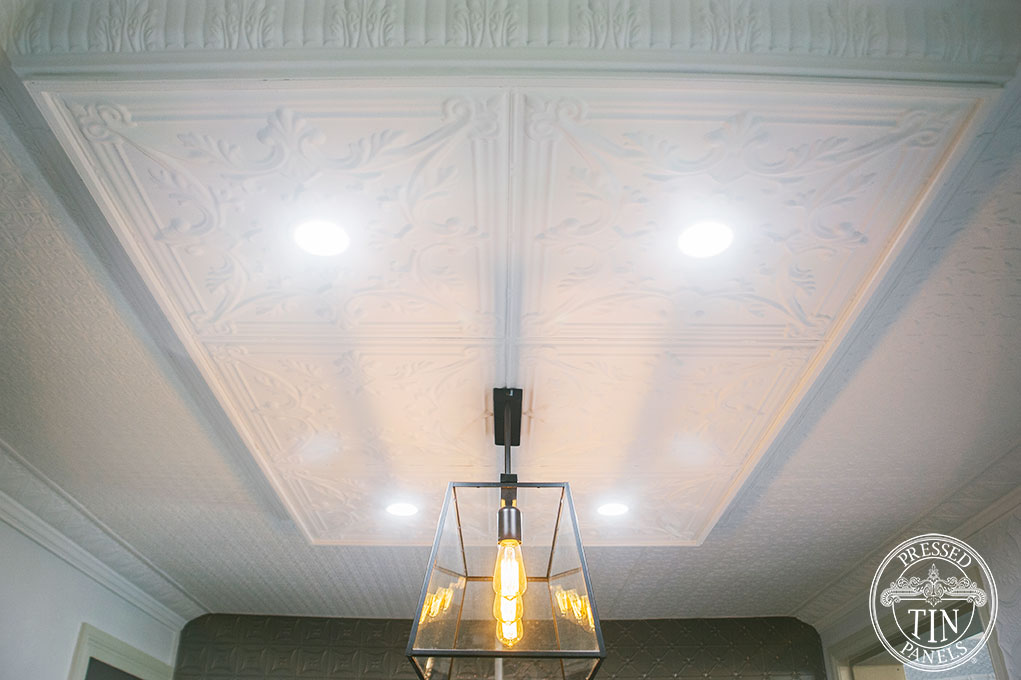 PressedTinPanels_Provincial600x600_MapleCornice_LoweredCeiling3
