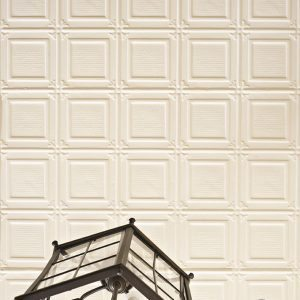 Image example of Pressed Tin panels Ophir pattern installed on ceiling