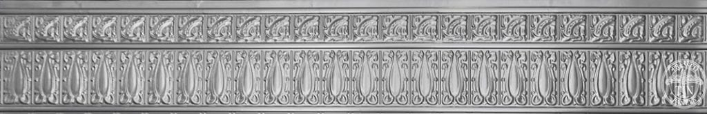 Full length image example of Pressed Tin Panels Wall Panel Frieze