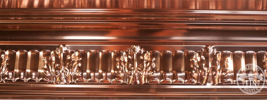 PressedTinPanels_MapleCornice_Copper_Section