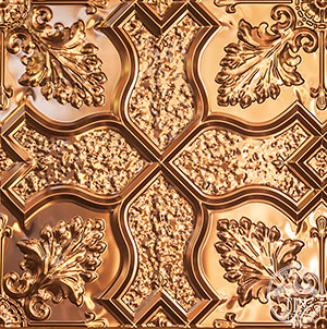 PressedTinPanels_Shield600x600_Copper_PatternRepeat_Thumbnail