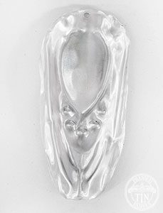 Small Egg & Darte Internal Cornice Leaf