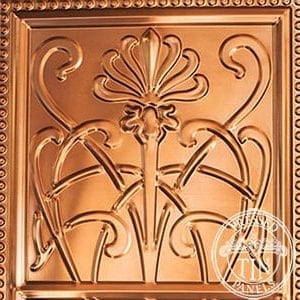 Pressed Tin Panels WildflowerPatternRepeat304x925 Copper Thumbnail
