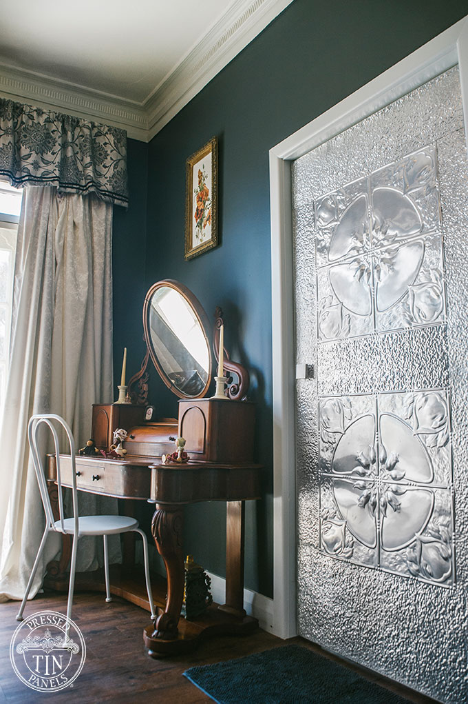 PressedTinPanels_DecorativeDoor_Lotus&RoughCastSmall