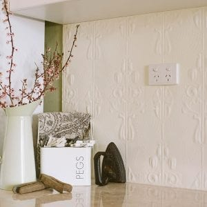 The Posy pattern laundry splashback