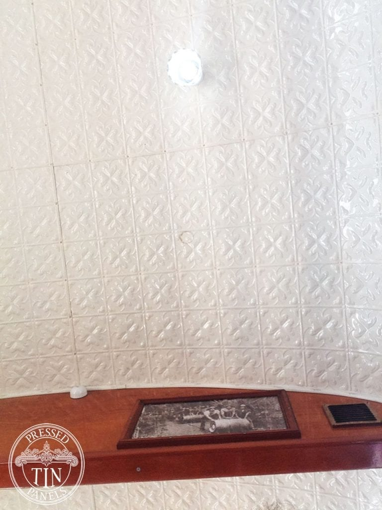 Pressed Tin Panels Spades Ceiling Train Carriage
