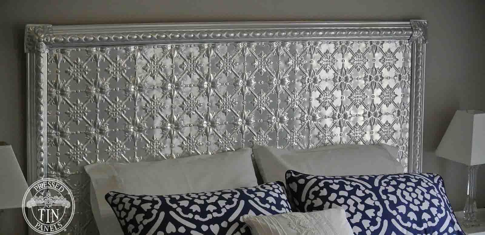 Pressed Tin Panel Bed Head Diy Pack