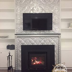 Carousel Fire Place Feature Wall