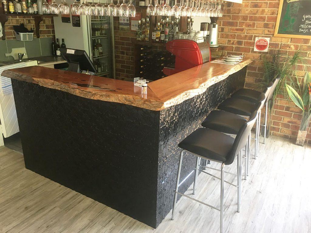 Pressed Tin Panels Original Bar Front Black Gloss