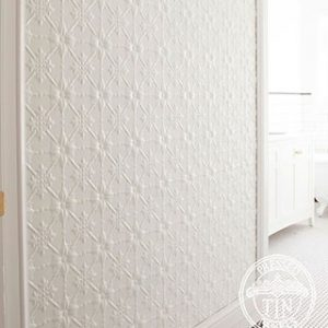 Original Bathroom Feature Wall Bright White
