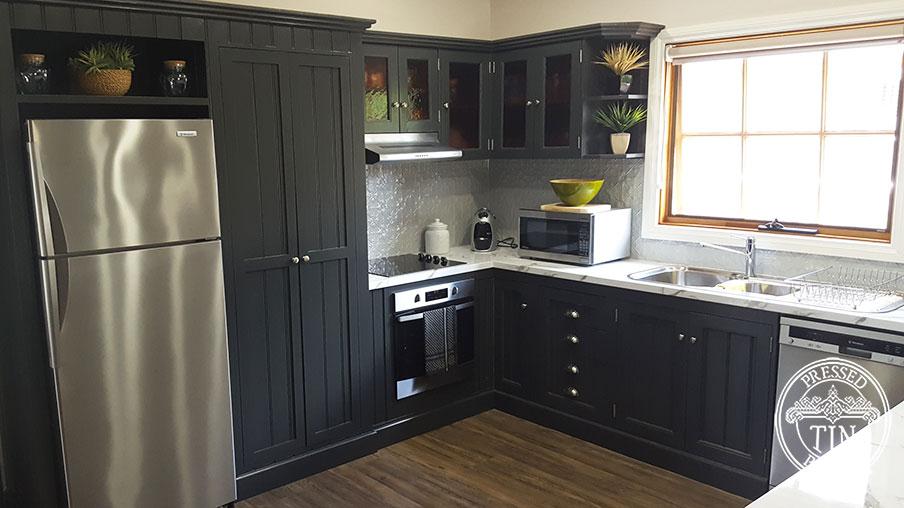 Pressed Tin Panels Original Kitchen Splashack Mercury Silver