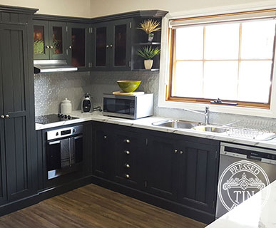Original Kitchen Splashback Mercury Silver