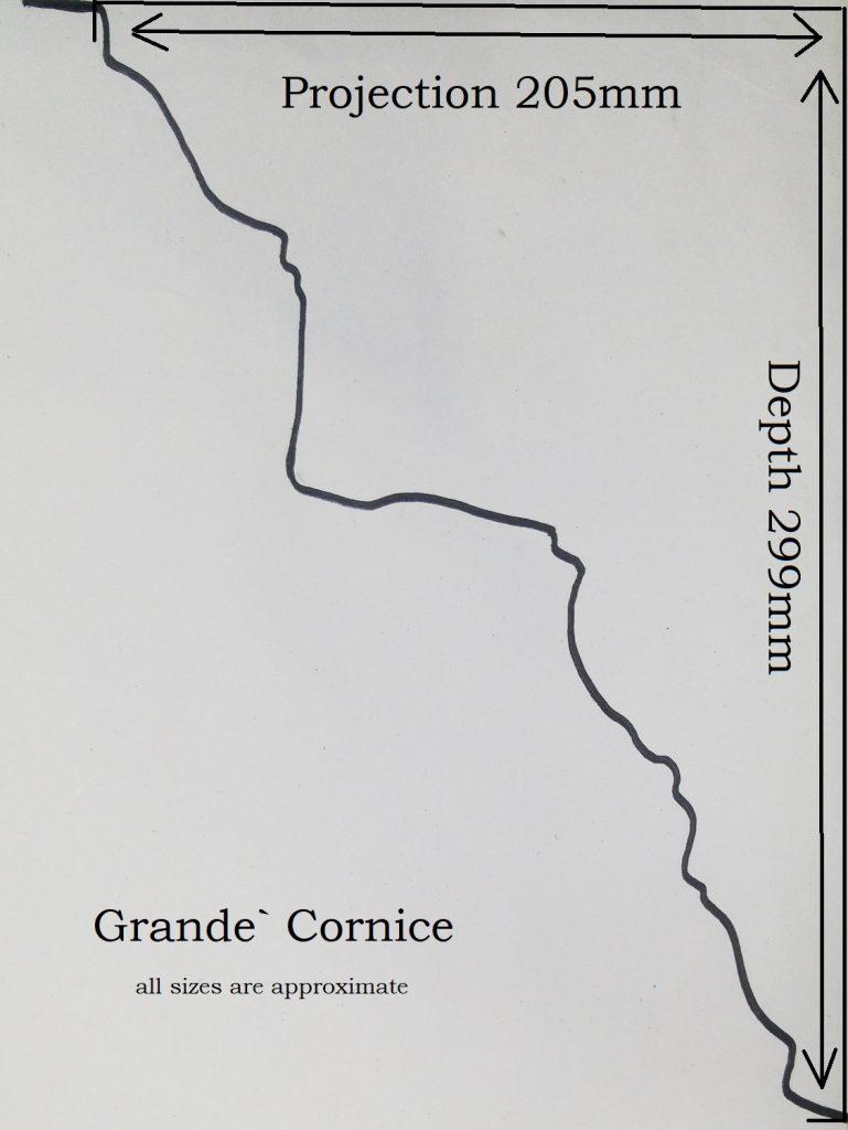 Grande Cornice Profile Information