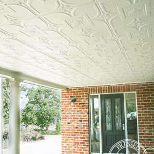 Pressed Tin Panels Alexandria Outdoor Ceiling Verrandah