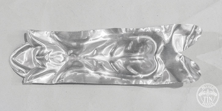 Pressed Tin Panels Gallipoli Rose Internal Cornice Leaf