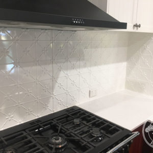 Pressed Tin Panels Clover KitchenSplashback Ceilings