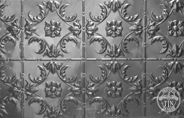 melbourne pressed tin panel close up image